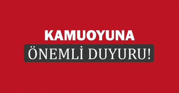 BENDEN BU KADAR… (KAMUOYUNA DUYURULUR)